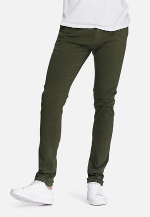 Basicthread Skinny Chino Khaki