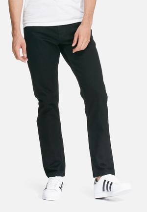 Basicthread Regular Fit Jeans Black