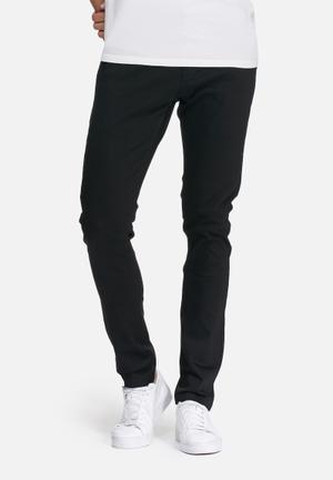 Basicthread Skinny Chino Black