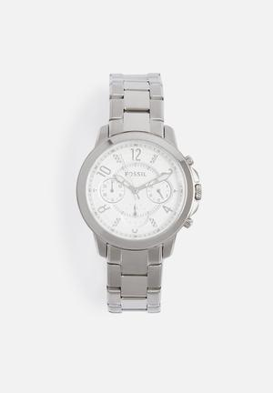 Fossil Gwynn Watches Silver
