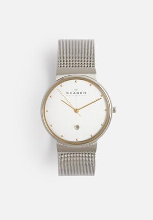 Skagen Ancher Watches Silver