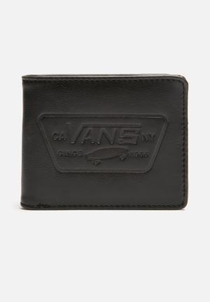 Vans Full Patch Fold Bags & Wallets Black