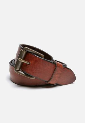 Tony leather belt