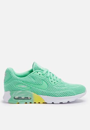 Nike Air Max 90 Ultra BR Sneakers Green Glow / Pure Platinum