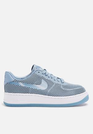 Nike W Air Force 1 Low Upstep BR Sneakers  Blue Grey / Ocean Fog