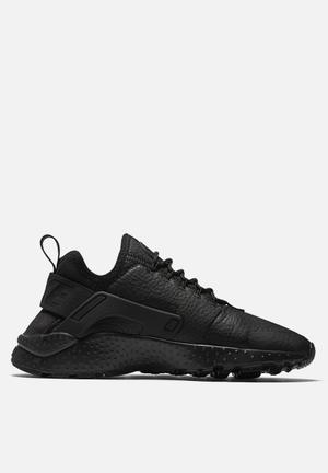 Nike Air Huarache Run Ultra 'Beautiful X Powerful' Sneakers Triple Black