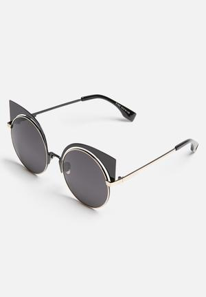 THIRD LA Eyewear Black & Gold