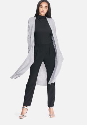 Dailyfriday Irene Maxi Cardigan Knitwear Grey