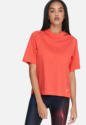Nike Bonded Top T-Shirts Orange