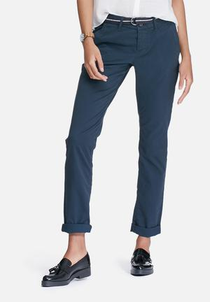 Superdry. International Sweet Chinos Trousers Navy