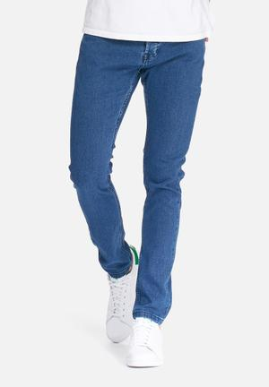 Only & Sons Warp Skinny Jeans Blue
