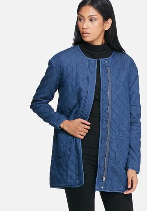 ONLY Cameron Quilt Jacket Blue