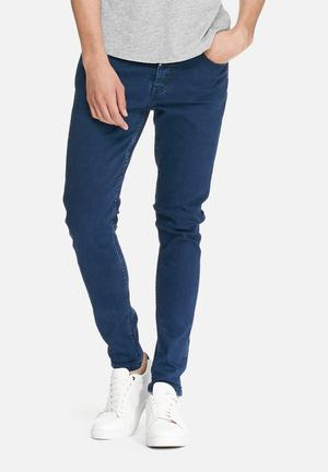 Sergeant Pepper Trench Super Skinny Jeans Blue