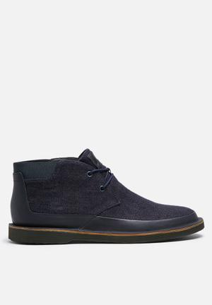 Camper Morrys Boots Navy & Black