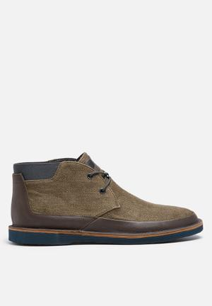 Camper Morrys Boots Khaki & Brown