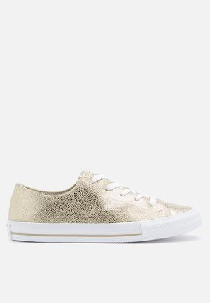 Converse Chuck Taylor All Star Low Sneakers Light Gold / White