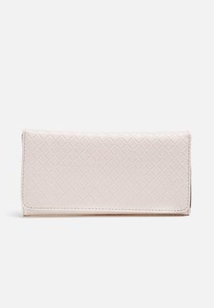 Dailyfriday Solid Purse Beige