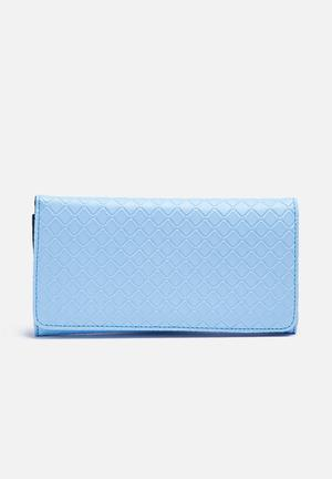 Dailyfriday Solid Purse Light Blue