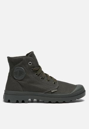 Palladium Mono Chrome Boots Army Green