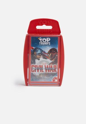 Top Trumps Top Trumps Captain America: Civil War Games & Puzzles