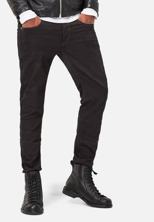 G-Star RAW 3301 Slim Jeans Black