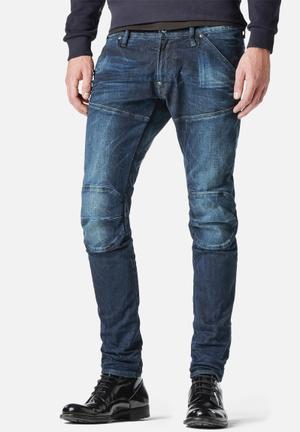 G-Star RAW 5620 3D Super Slim Jeans Indigo Blue