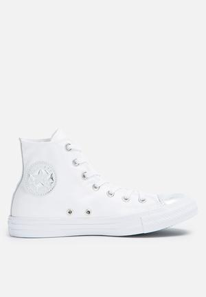 Converse Chuck Taylor All Star HI Sneakers White / Pure Silver
