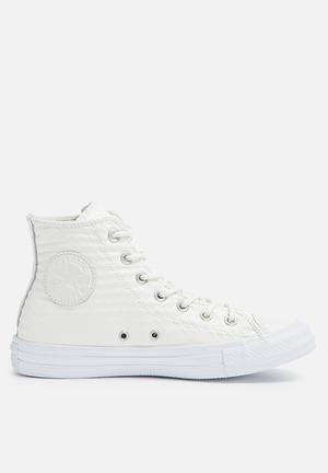 Converse Chuck Taylor All Star HI Sneakers White/White
