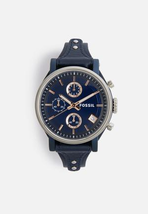 Fossil Original Boyfriend Watches Navy