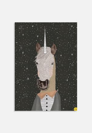 Amalia Restrepo Unicorn Art