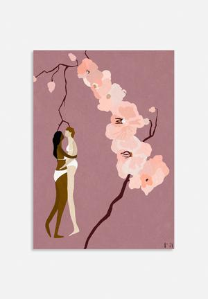 Amalia Restrepo Loving Ladies Art