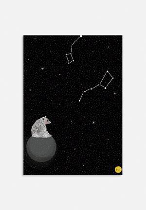 Amalia Restrepo Moon Bear Art