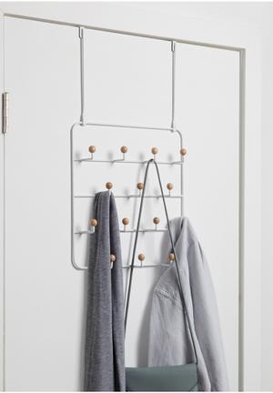 Umbra Estique Over-the-door Multi Organiser Bath Accessories Metal & Wood
