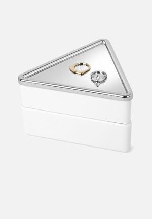 Umbra Trinity Stacking Jewelry Box Organisers & Storage Melamine