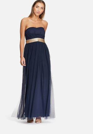 Dailyfriday Sweetheart Gown Occasion Navy