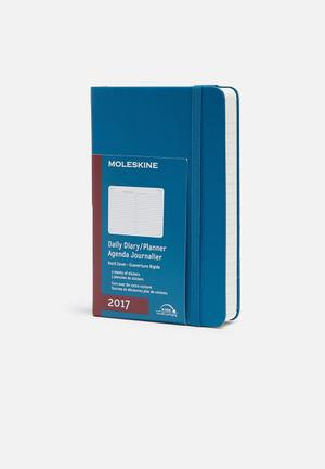 Moleskine 2017 A6 Daily Pocket Planner Gifting & Stationery Paper