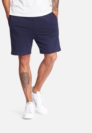 Basicthread Neil Sweat Shorts Navy
