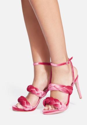Cape Robbin Daria Heels Pink