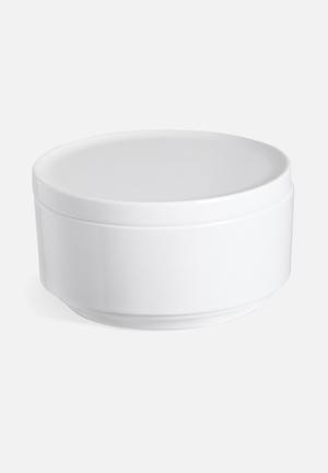 Umbra Step Canister Bath Accessories Plastic (High Gloss Melamine Finish)