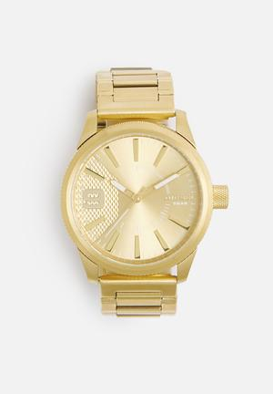Diesel  Rasp Watches Gold