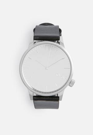 Komono  Winston Mirror Watches Black