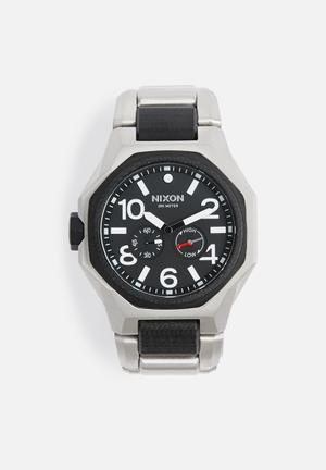 Nixon Tangent Watches Black & Silver