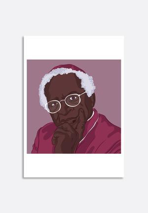 Stacey Knipe Desmond Tutu Art