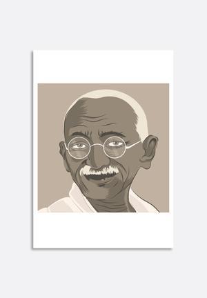 Stacey Knipe Gandhi Art