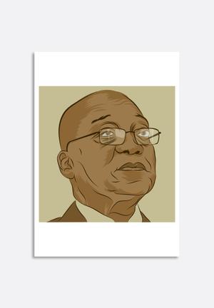 Stacey Knipe Jacob Zuma Art