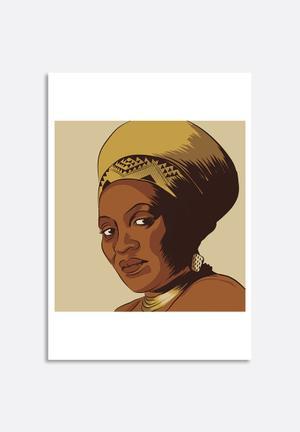 Stacey Knipe Miriam Makeba Art