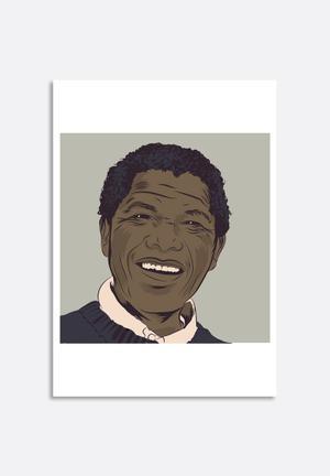 Stacey Knipe Nelson Mandela Art