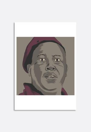 Stacey Knipe Julius Malema Art