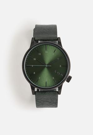 Komono  Winston Regal Watches Green / Black