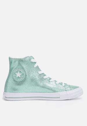 Converse Chuck Taylor All Star HI Sneakers Metallic Glacier / White